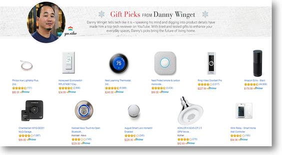 Gift Pick, Danny Winget
