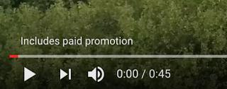 YouTube paid promotion